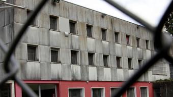 Das Untersuchungsgefängnis Solothurn in Biberist.