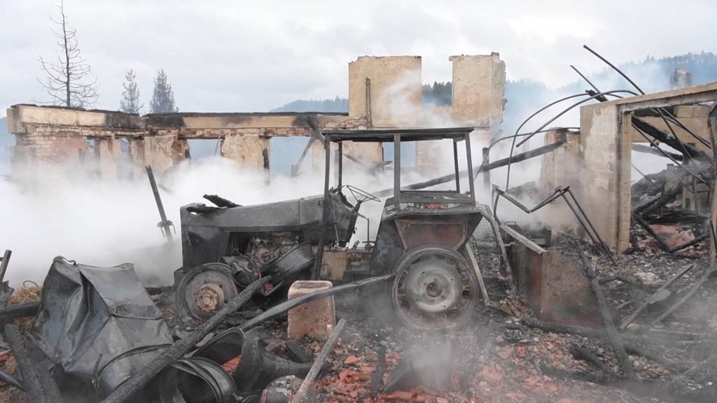 Nach Brand in Bauma: Grosse Solidarität und viele Spenden