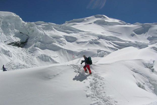 Die Forscher wollen den 7126 Meter hohen Himlung Himal im Himalaja besteigen.