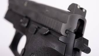 Mit einer Pistole erschossen (Symbolbild)