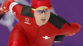 Will im Massenstartrennen in den Kampf um die Medaillen eingreifen: Livio Wenger