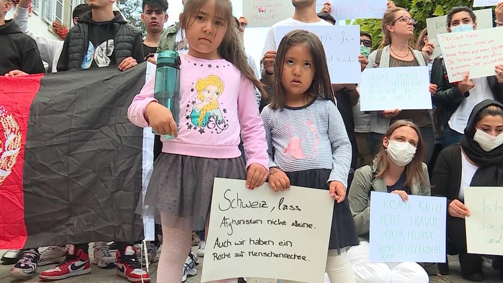 Solidarität: Dutzende fordern, dass der Kanton Aargau Flüchtlinge aufnimmt
