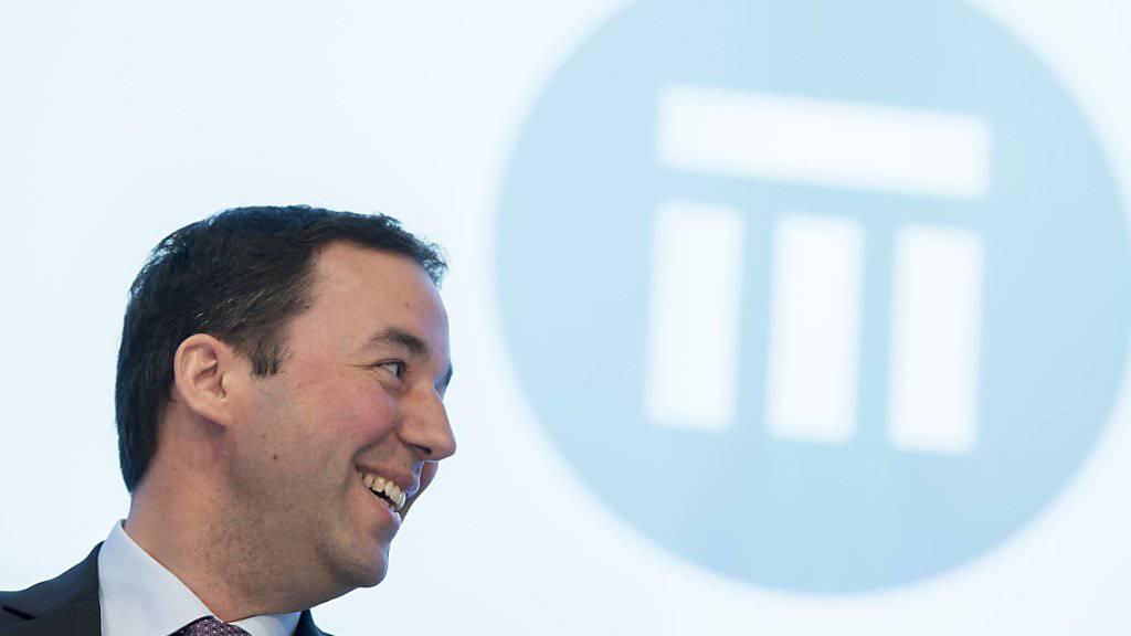 Christian Mumenthaler, Chef von Swiss Re, bekennt sich zum Standort Schweiz. (Archiv)