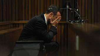 Oscar Pistorius am Donnerstag vor Gericht in Pretoria