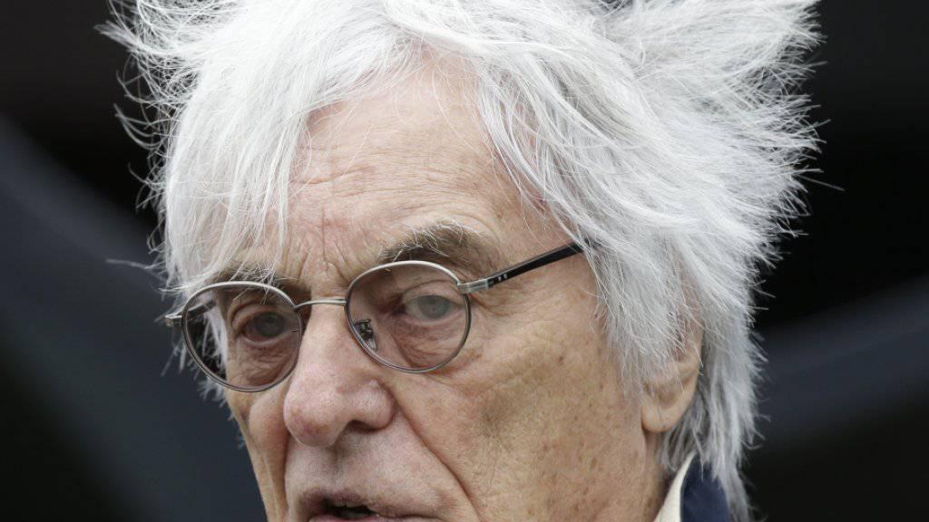 Bernie Ecclestone muss die Geschicke der Formel 1 nach 40 Jahren abgeben.