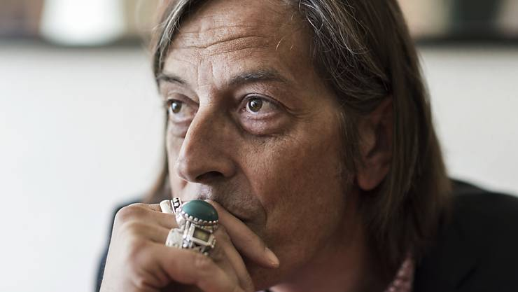 Schriftsteller Pedro Lenz ist meist bis spätabends unterwegs.