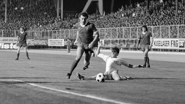 Im 1925 eröffneten Letzigrund gingen grosse Spiele über die Bühne. 1977 duellierten sich dort der FC Zürich und der FC Liverpool im Meistercup-Halbfinal.