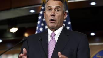 Republikanischer Anführer John Boehner (Archiv)
