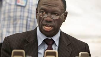 Oppositionsführer Kizza Besigye