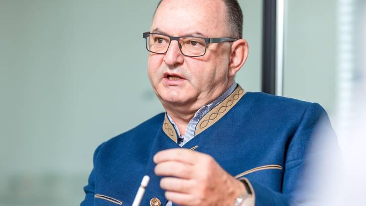 Rudolf Stämpfli gibt sein Amt als Verwaltungsratspräsident der BLS aus gesundheitlichen Gründen per sofort ab.