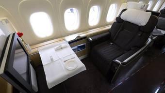 Teure Business-Class-Flüge für UNO-Mitarbeiter gibts neu erst ab elf Stunden Flugdauer (Symbolbild)