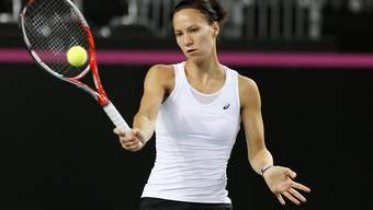Viktorija Golubic steht beim WTA-Turnier in Dubai in der 2. Runde