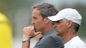 Assistent Daniel Bamert trainierte heute noch den FC Wohlen, doch er wird Martin Rueda nach Wil folgen.