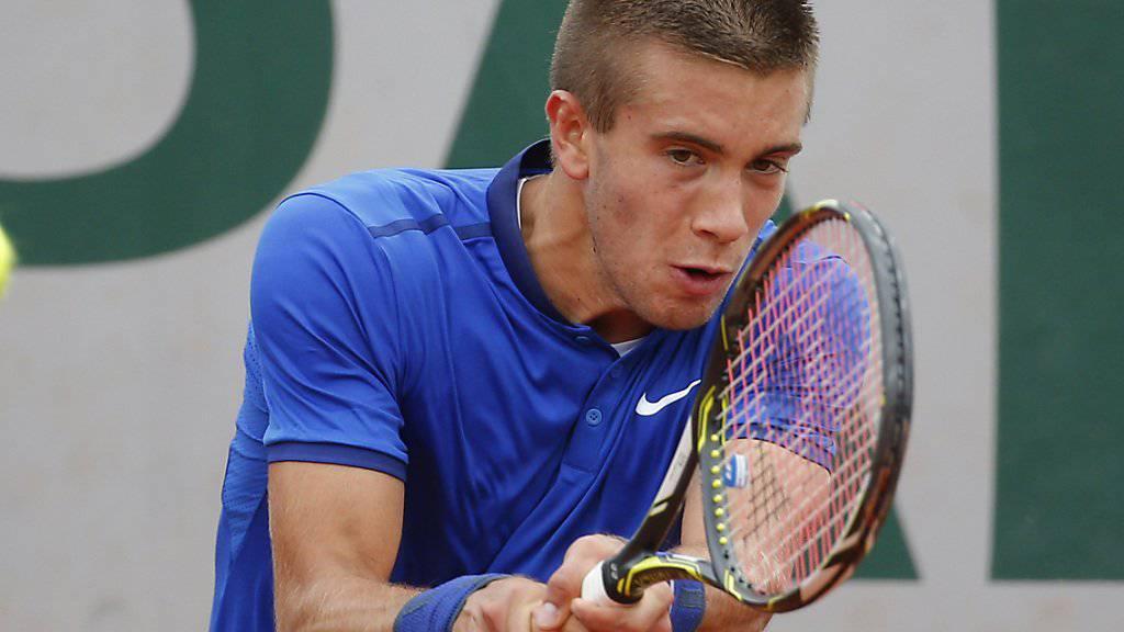 Borna Coric sicherte Kroatien den Einzug in den Davis-Cup-Halbfinal