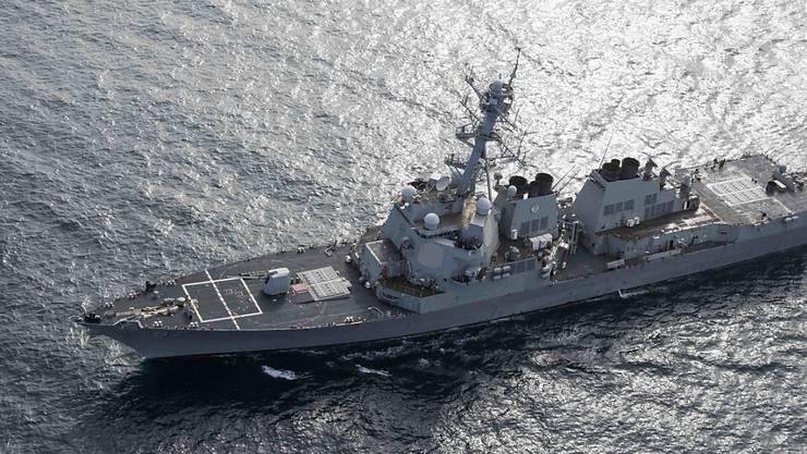 Der US-Raketenzerstörer USS Mason auf dem Weg vom Atlantik in den Golf von Oman. (Archivbild)