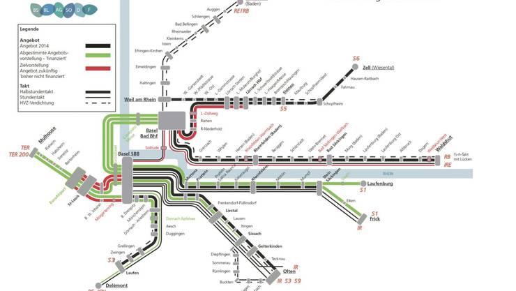 So soll das Netz 2030 aussehen.