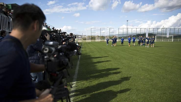 Das Interesse an der Mannschaft aus dem Kosovo ist gross.