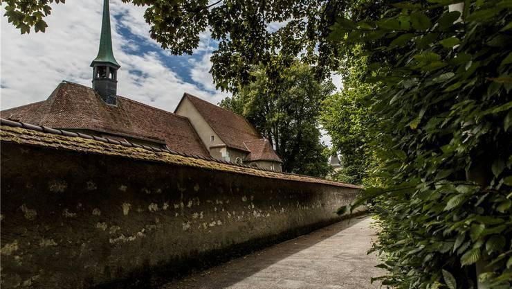 Anwohner sind nicht mit den Plänen im Kapuzinerkloster Solothurn einverstanden. (Archiv)