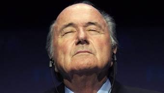 FIFA-Präsident Sepp Blatter.