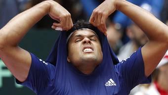 Jo-Wilfried Tsonga spielt mit Frankreich um den Titel im Davis Cup