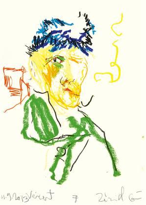 Guillaume Bruère: Zeichnung nach Vincent van Gogh, 2013.