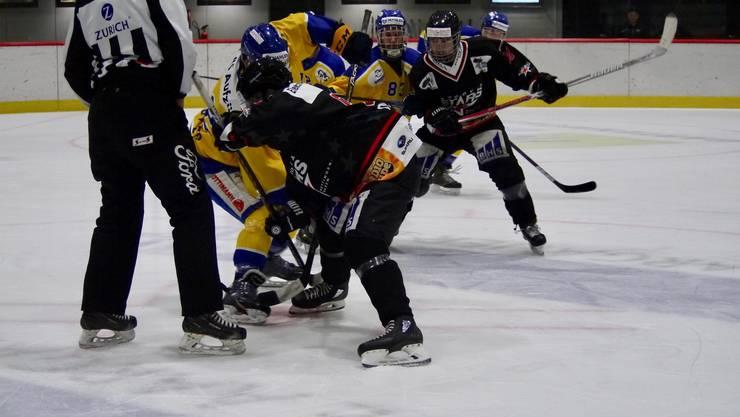 Bullygewinn der Argovia Stars gegen den EHC Uzwil.