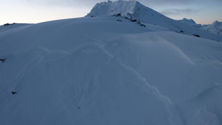 1500 m lang, 740  m breit: Die Lawine ging am Dienstag im Gebiet Les Louèrettes ab.