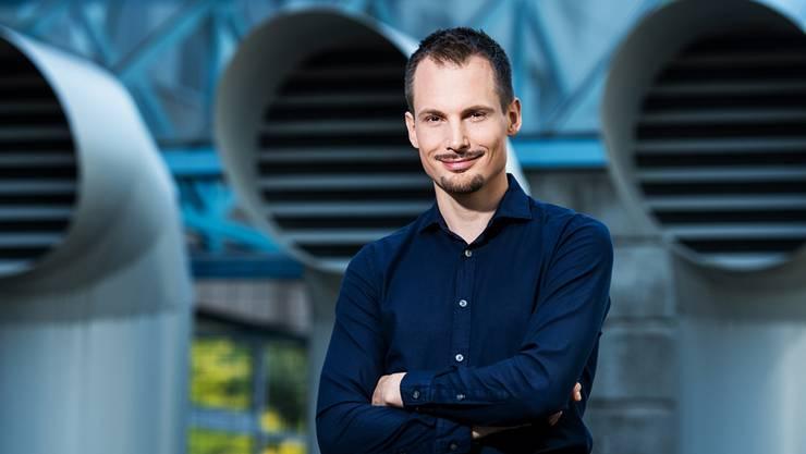 SRF-Moderator Jonas Projer. SRF
