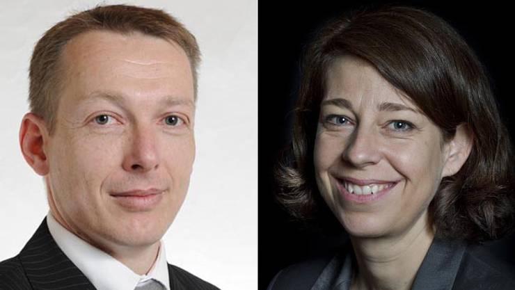 Verlassen das Unternehmen: Lars Neeb und Sibylle Schürch.