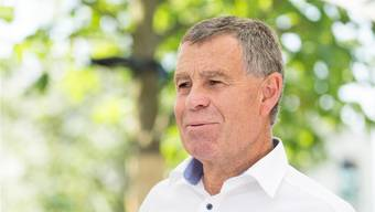 Der Zürcher Finanzdirektor Ernst Stocker (SVP) engagiert sich für Ruedi Nosers (FDP) Wiederwahl in den Ständerat.