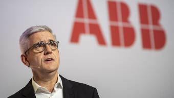 epa07236868 , CEO of ABB, speaks during a press conference about the divestment of ABBs power grid division to the Japanese company Hitachi, in Zurich, Switzerland, 17 December 2018. Under the terms of the agreement, ABB will receive 7.6 to 7.8 billion US dollars for 80 percent of its grid business. EPA/ENNIO LEANZA