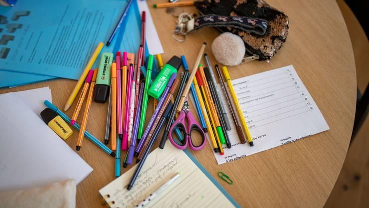 Wann der Unterricht wieder in den Klassenzimmern stattfindet, ist unklar.