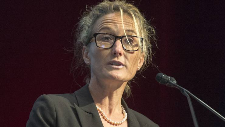 Susanne Hochuli, Departementsvorsteherin Gesundheit und Soziales