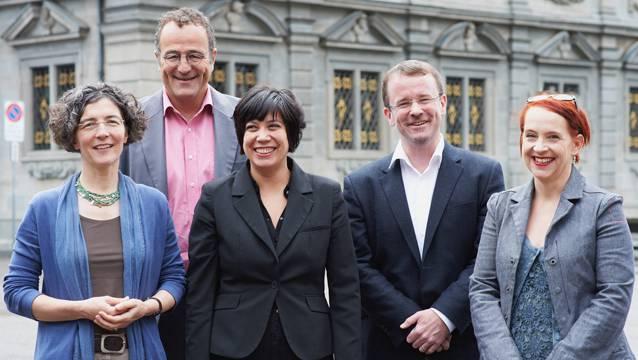 Regula Enderlin Cavigelli, Thomas Marthaler, Min Li Marti, Raphael Golta und Christine Seidler bilden das Fünfer-Gespann der SP.