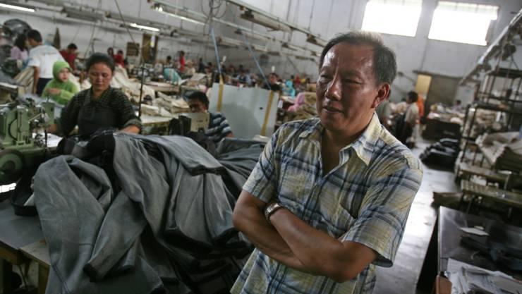Es brauche sichere Arbeitsplätze, um die Armut zu bekämpfen, teilte die ILO mit: Schneiderei in Indonesien. (Symbolbild)