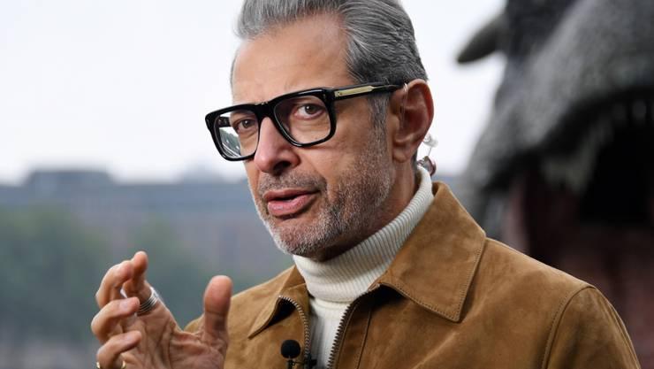 US-Schauspieler Jeff Goldblum hat einen Plattenvertrag unterschrieben. Sein erstes Jazz-Album ist in Planung. (Archivbild)