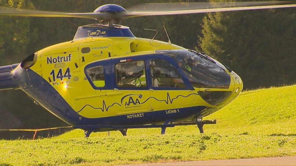 Unfall Sternenberg (© BRK News/Beat Kälin)