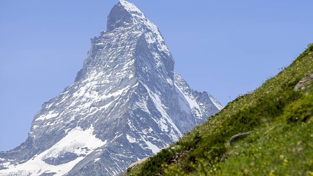 In Zermatt, Piotta TI und Disentis GR sind die Temperaturen auf neue Rekordwerte für den Monat März angestiegen. In Zermatt wurde der alte Rekord aus dem Jahr 1994 am Nachmittag mit 16 Grad um 1,2 Grad übertroffen. (Archivbild)