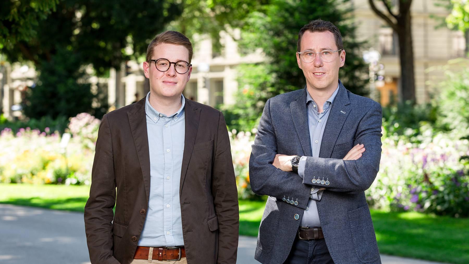 Sven Altermatt und Lucien Fluri übernehmen neu als Doppelspitze die Führung der Solothurner Zeitung, des Oltner Tagblatts und des Grenchner Tagblatts.