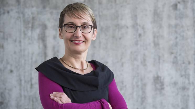 Elisabeth Burgener ist Co-Präsidentin der SP Aargau und Mitglied im Initiativkomitee.