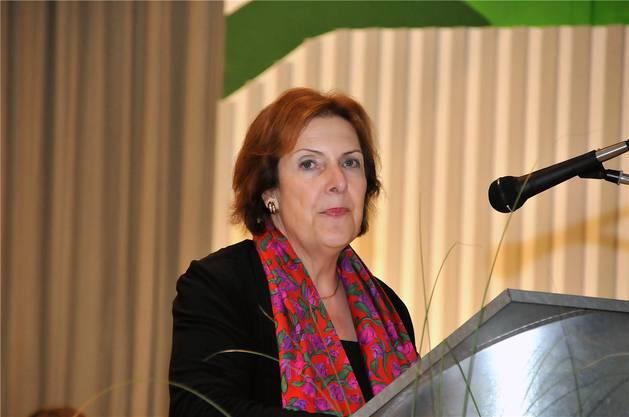 Die Aargauer Ständerätin Christine Egerszegi war Ehrengast.