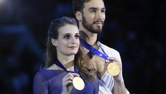 Holten in Moskau zum vierten Mal in Folge EM-Gold im Eistanzen: Gabriella Papadakis und Guillaume Cizeron