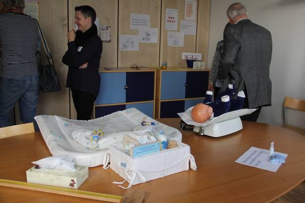 Für komplexe Fälle hat die Mütter- und Väterberatung im ersten Stock ein Besprechungszimmer eingerichtet.