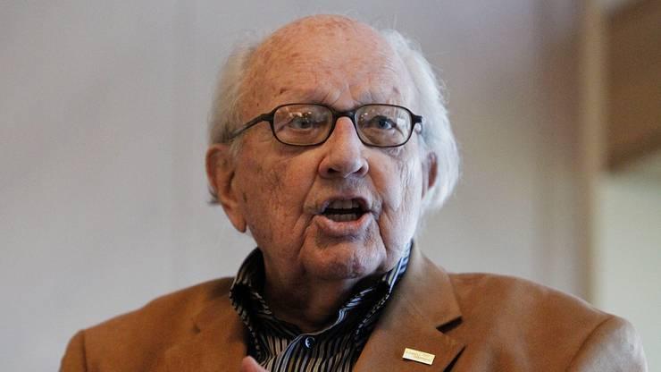 Nun ist der 92-Jährige verstorben. (Bild von 2010)