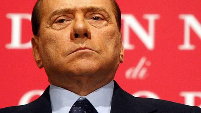 Italiens Premierminister Silvio Berlusconi (Archiv)