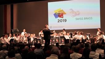 Brass Band Dirigent Simon Gertschen traf mit seiner Interpretation den Nerv der Jury.