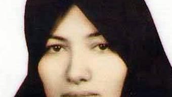 Die zu Tod verurteilte Sakine Mohammadi-Aschtiani