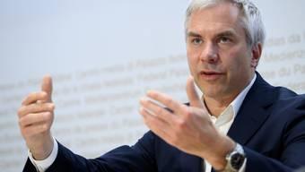 Martin Ackermann, Präsident der Taskforce.