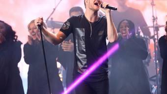 Dan Reynolds, Sänger der US-Rockband Imagine Dragons, ist Vater von Zwillingen geworden und ist überglücklich. (Archiv)