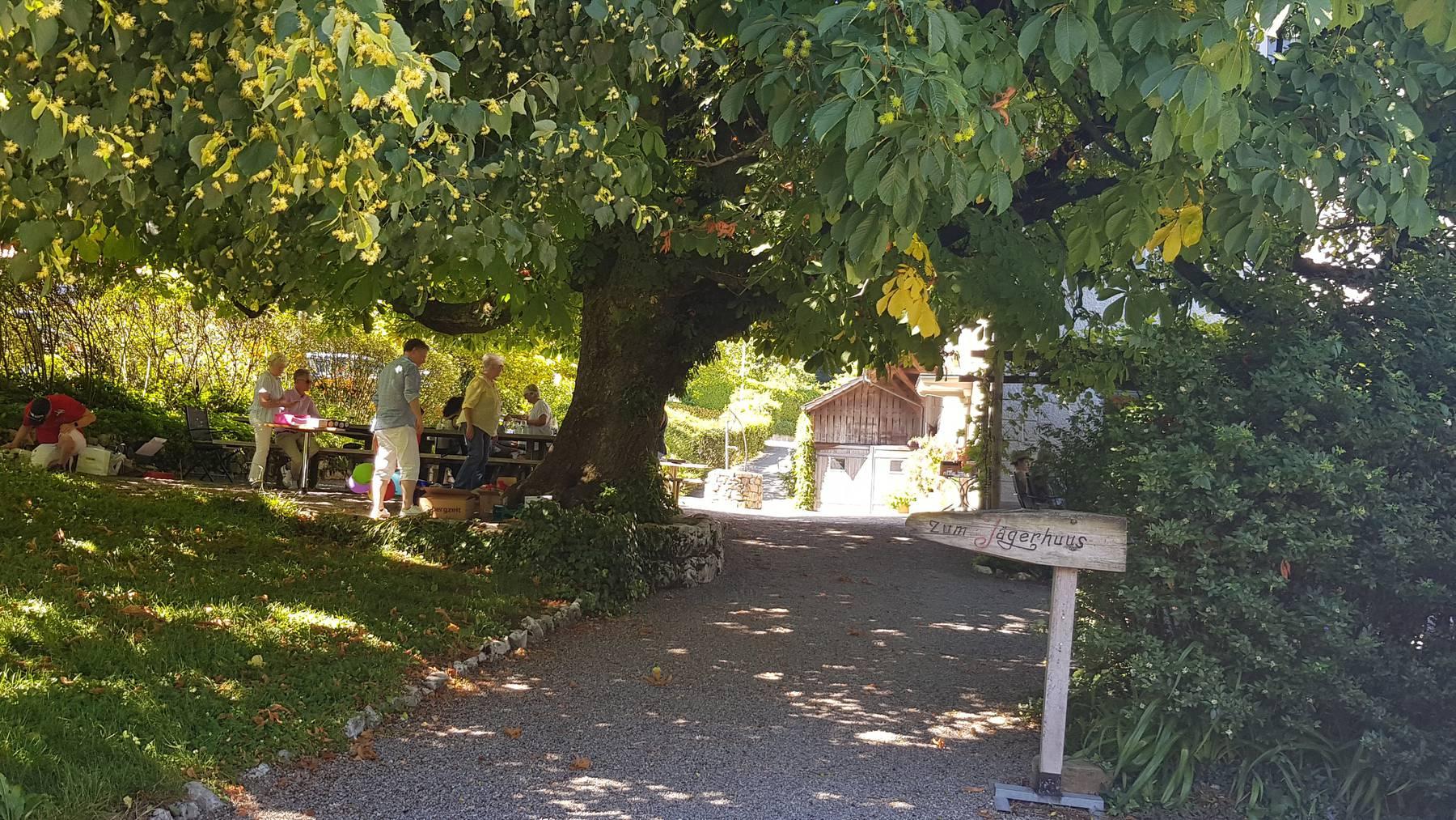 Wirtschaft zum Jägerhuus, Hertenstein